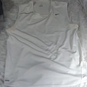 NIKE DRY FIT MENS WORKOUT TOP SZ M
